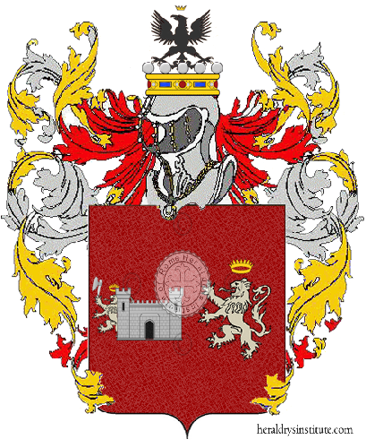 Coat of Arms of family Bartoloni  o Bartolone
