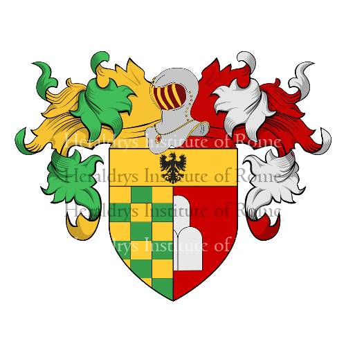 Coat of Arms of family Santia