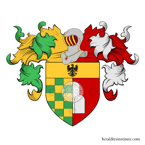 Coat of arms of family De Santi