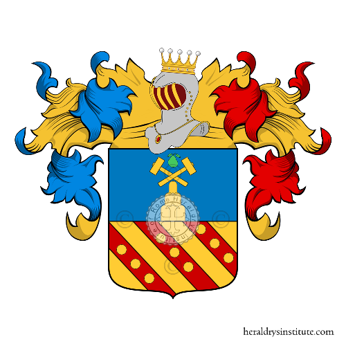 Coat of Arms of family Perisano