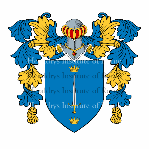 Coat of Arms of family Sangiovanni