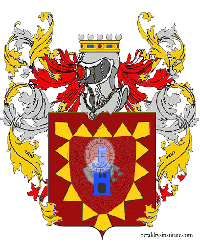 Coat of Arms of family Salberini
