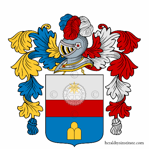 Coat of Arms of family Vallicelle
