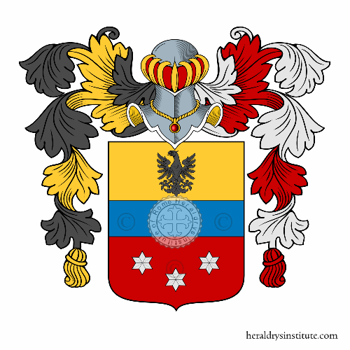 Coat of arms of family Pandolfi