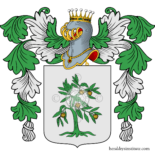Coat of Arms of family Castagna