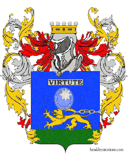 Coat of Arms of family Pardelli