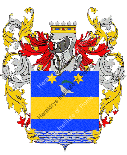 Coat of Arms of family Polidora