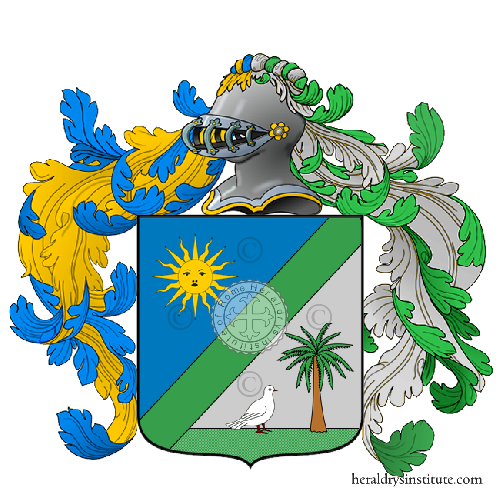 Coat of Arms of family Tizzi