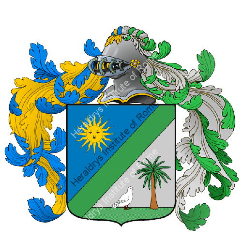 Coat of Arms of family Vizzi