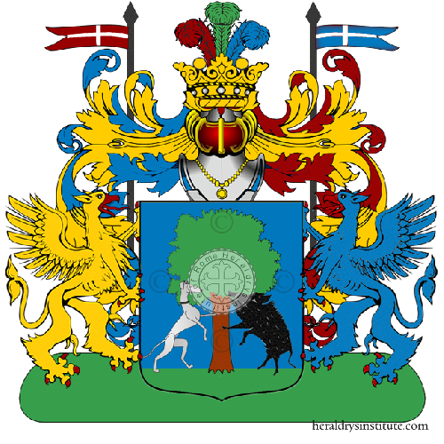 Coat of Arms of family Sannapiu