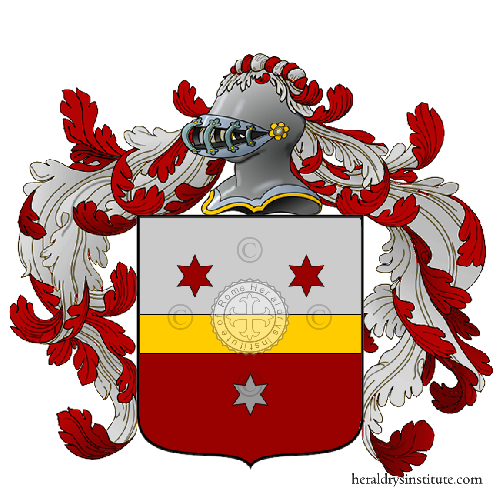 Coat of Arms of family Sensiola