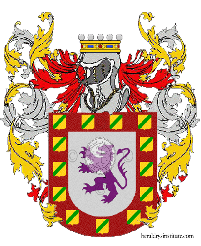 Coat of Arms of family Carone