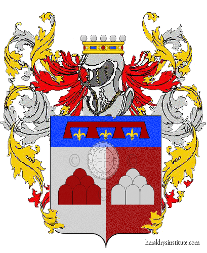 Coat of Arms of family Virgiliano