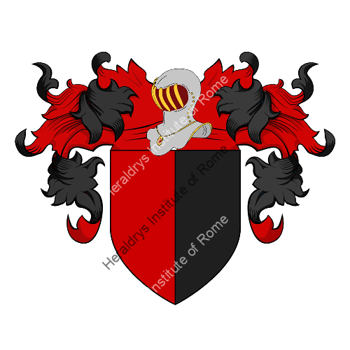 Coat of Arms of family Paolobelli