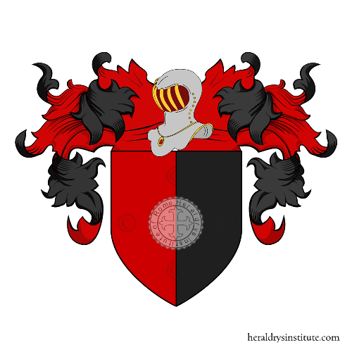 Coat of arms of family Paolo