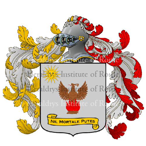 Coat of Arms of family Scarletti