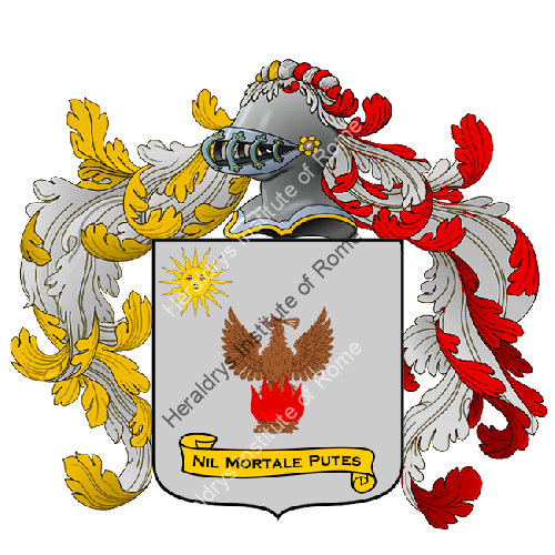 Coat of Arms of family Zarletti