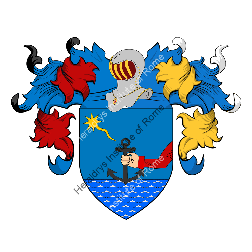Coat of Arms of family Boldrin