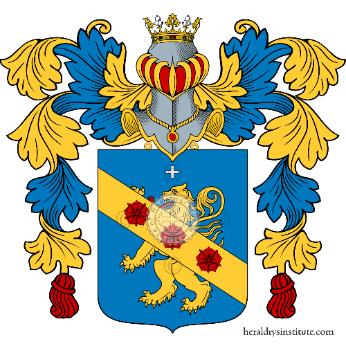 Coat of Arms of family De Luca Cardillo