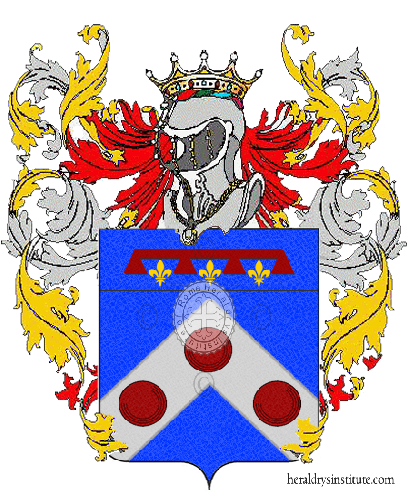 Coat of Arms of family Mazzina
