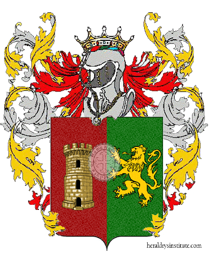 Coat of Arms of family Zanino
