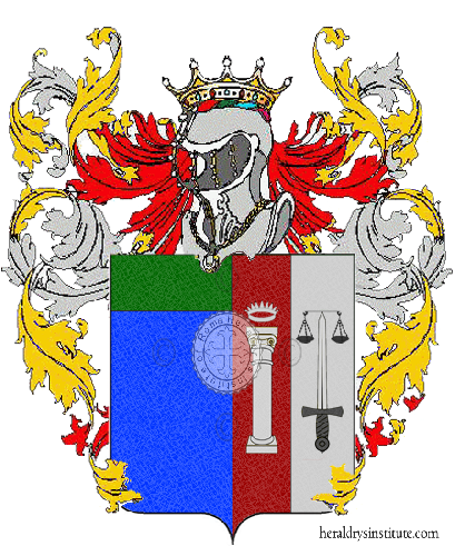 Coat of Arms of family Trinca Colonel