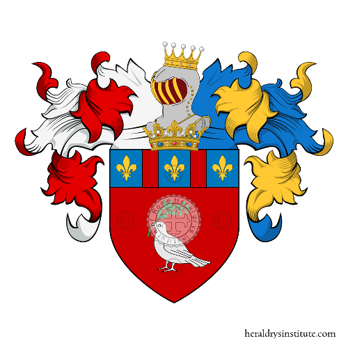 Coat of Arms of family Panfilli
