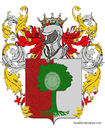 Coat of Arms of family Terzeri