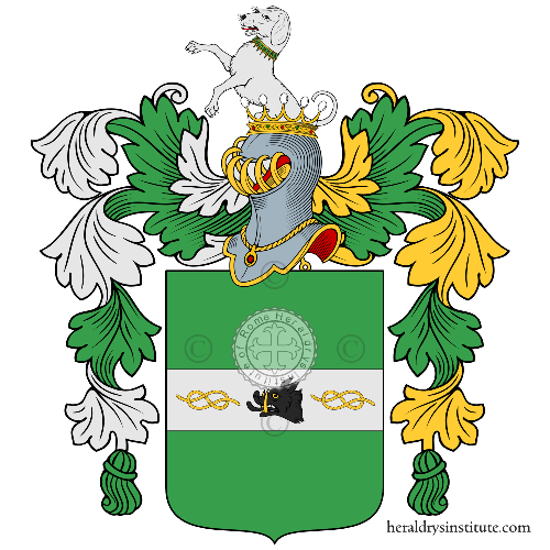 Coat of Arms of family Nela