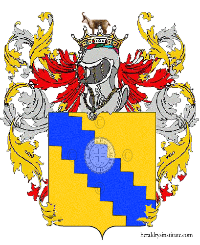 Coat of arms of family Carrone