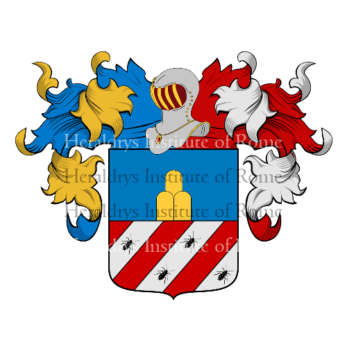 Coat of arms of family Scarafoni