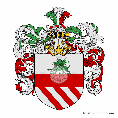 Coat of arms of family Dragonetto