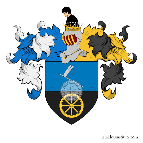 Coat of Arms of family Sebastianini