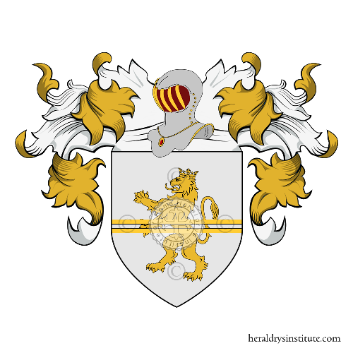 Coat of Arms of family Desdegani