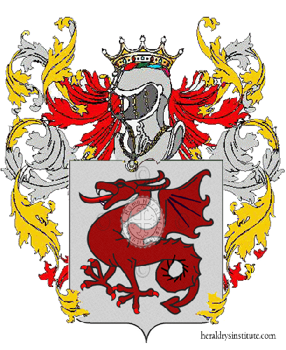 Coat of Arms of family Mauricci
