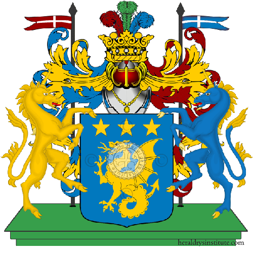 Coat of Arms of family Nedroni