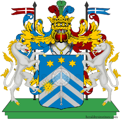 Coat of Arms of family De Poli