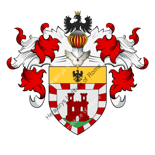 Coat of Arms of family Sanerba