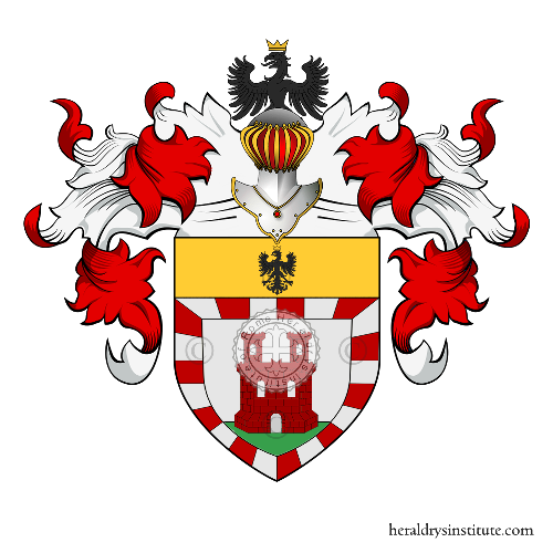 Coat of arms of family Erbano