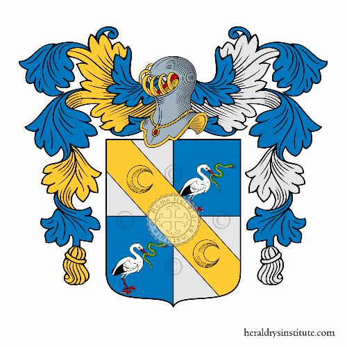 Coat of Arms of family Zinelli