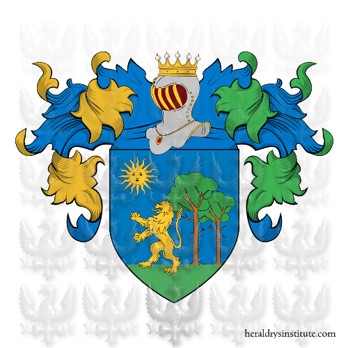 Coat of Arms of family CANDELETTI