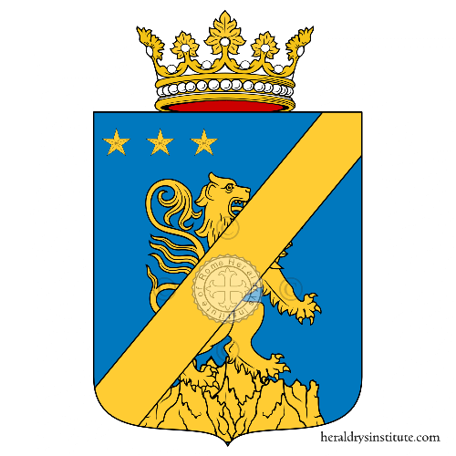 Coat of Arms of family Salerna