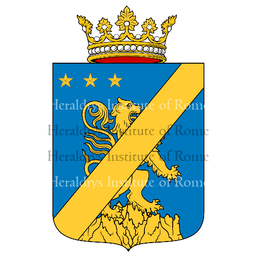 Coat of arms of family Di Salerno