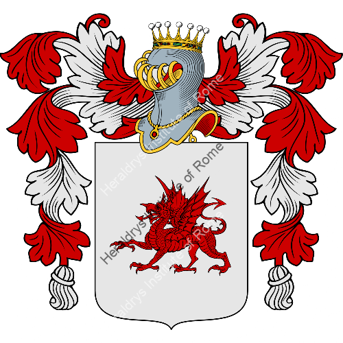 Coat of Arms of family Mauroni