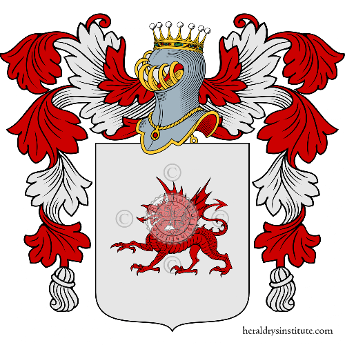 Coat of arms of family Mauro
