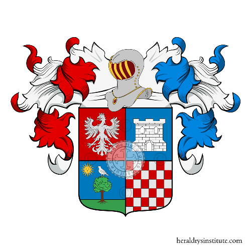 Coat of Arms of family Blessent