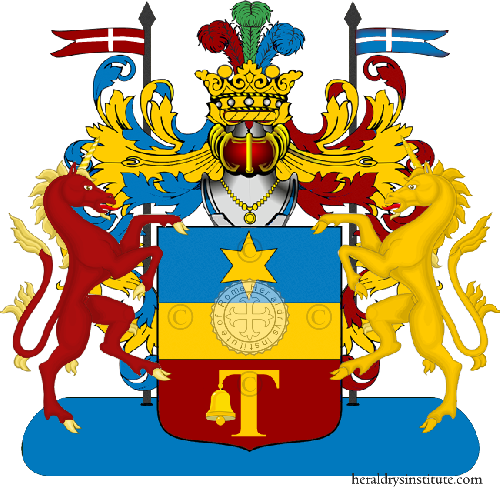 Coat of Arms of family Torini