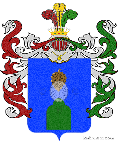 Coat of Arms of family Pereste