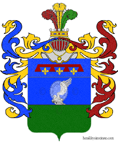 Coat of Arms of family Tuccelli