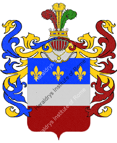 Coat of Arms of family Pavola